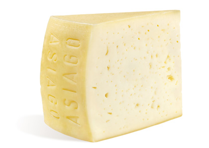 Fresh Asiago wedge