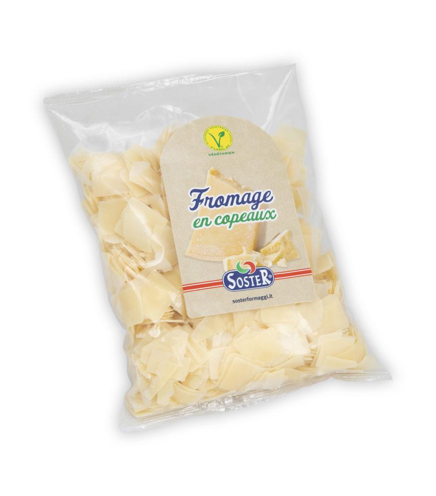 Copeaux de fromage à pâte dure