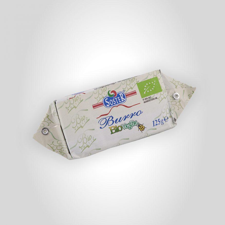 Organic butter 125 g