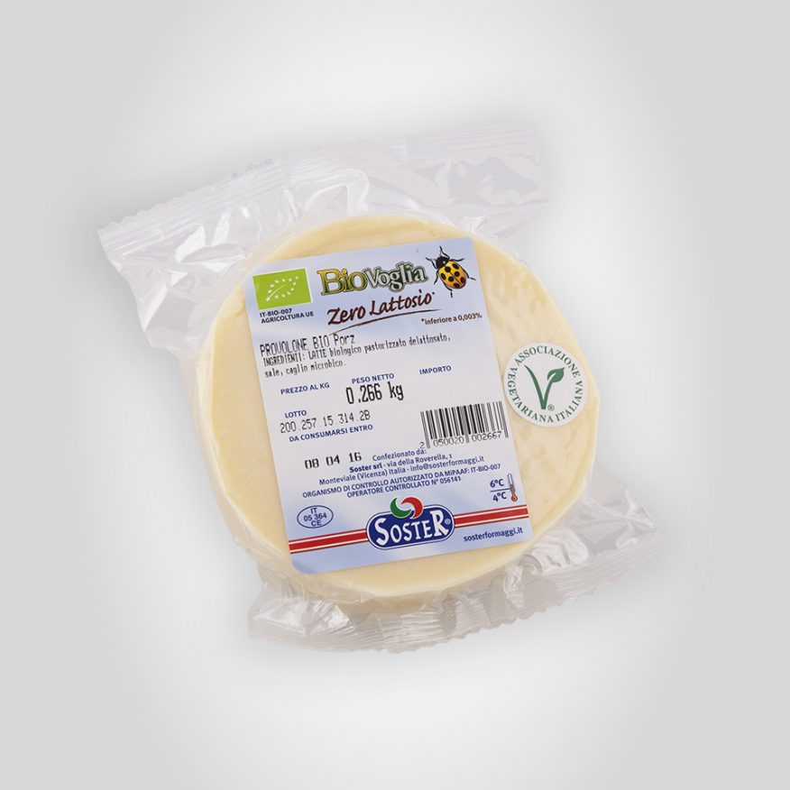 Organic Lactose-Free Provolone  wedge