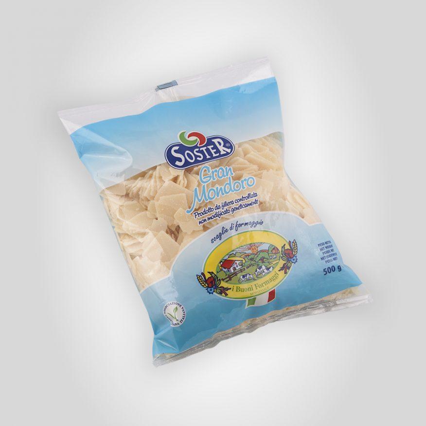 Copeaux Gran Mondoro ( fromage à pâte dure) 500 g